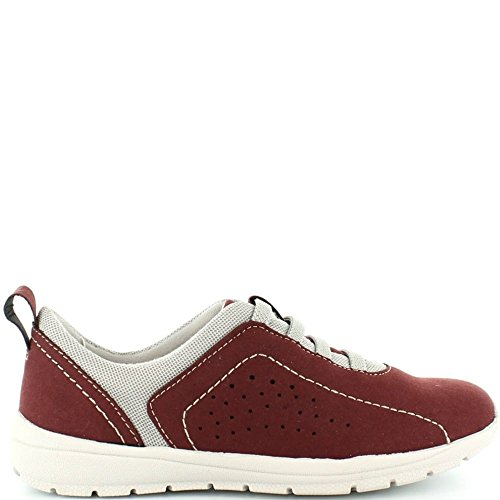 Burgundy On Wildleder Faux Earth in Slip Trainer Tucson 28134 Asche Gefärbt Burgund oder Damen Spirit w77IPq6