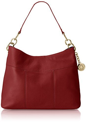 Tommy Hilfiger Signature Hobo, Red by Tommy Hilfiger