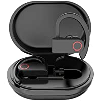 Karessories Mini Bluetooth 5.0 TWS Audifonos A9 Pro Inalambricos Auriculares Deportivos IPX7 Impermeable Manos Libres…