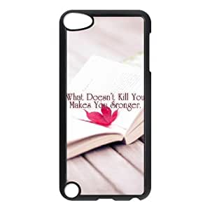 iPod Touch 5 Cell Phone Case , Pure and fresh Theme Custom Phone Case