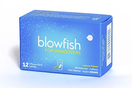 Blowfish Hangovers Tablets FDA Recognized Scientifically