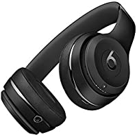 Beats Solo3 Wireless On-Ear Headphones - Black (Certified Refurbished)