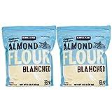 2,72kg./ 6 Pounds. Almond Flour, Blanched, Superfine Grind, California, 100% Pure, Kirkland Signature - 6 Pounds (2x1,36kg.)