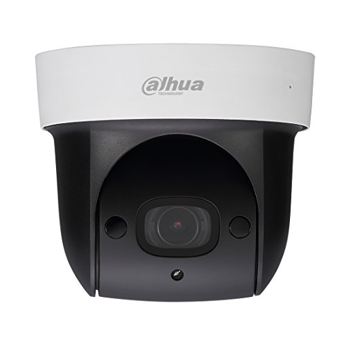Dahua SD29204T-GN-W 1080P PTZ WiFi IP Security Camera 4X Optical Zoom/Pan/Tilt,2MP HD High Speed Dome Indoor Wireless IP Camera with Built-in Mic for Audio,SD Card Slot,30m IR Night (Network Dome Camera Digital Video)