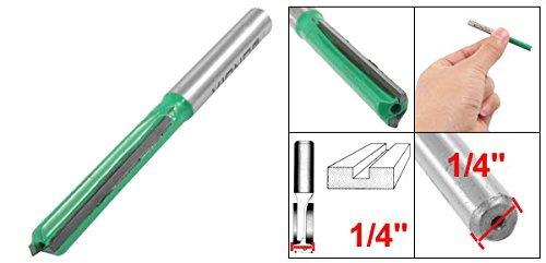 1//4 inch in diameter Straight double flute drill