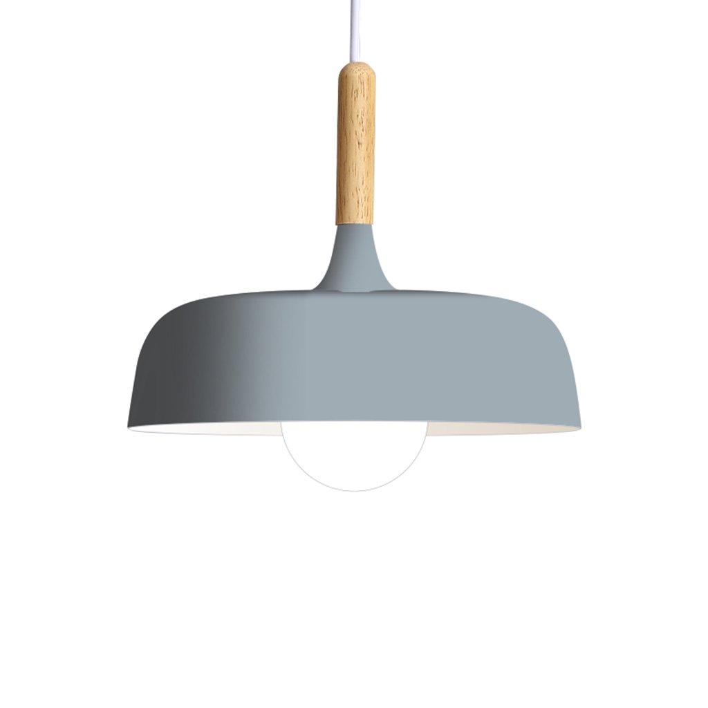 シーリングライト ノルディックシャンデリアシーリングランプマカロンアルミニウム+木製シャンデリアリビングルームレストランバー [エネルギークラスA ++] (Color : E, Size : 45cm*27cm) 45cm*27cm E B07T7JF6RG