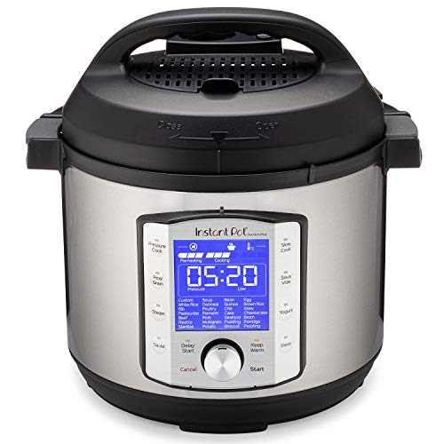 Instant Pot Duo Evo Plus 9-in-1 Electric Pressure Cooker, Slow Cooker, Rice Cooker, Grain Maker, Steamer, Saute, Yogurt Maker, Sous Vide, Bake, and Warmer|6 Quart|Easy-Seal Lid|14 Programs