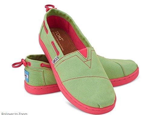 Tom's Youth Biminis Green-pink 2
