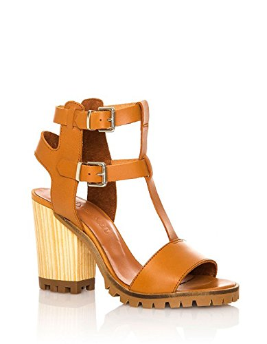 SixtySeven Brown Heel Sandals Brown iKSxpa