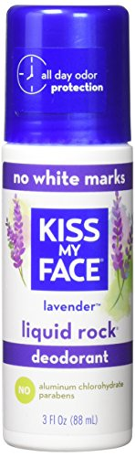 Kiss My Face Paraben Free Liquid Rock Roll-On Deodorant, Lav