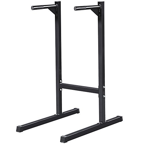 Topeakmart-Dipping-Stand-Stationtower-Bar-Triceps-Home-Gym-Workout-Exercise
