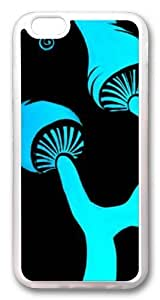Blue Shrooms9 Custom For Ipod Touch 4 Case Cover Hard shell Transparent