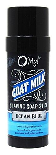 O My! Goat Milk Shaving Soap Stick-Ocean Blue (Body Shave Milk)