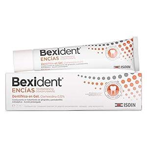 Isdin Bexident Encías Tratamiento Coadyuvante Dentífrico en Gel, Clorhexidina 0,12% , Gingivitis y Periodontits 1 x 75 ml