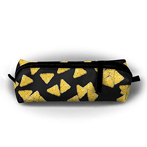 Y&C-Nan Tortilla Chips Day Funny Pattern Pencil Case Pen Bag Pouch Stationary Case Makeup Pencil Holders]()
