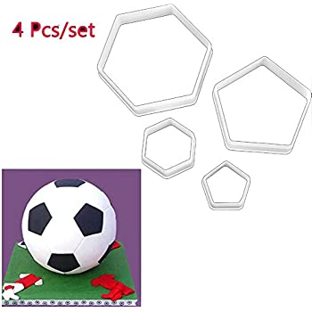 Amazon.com: Soccer Ball Cookie Cutter: Kitchen & Dining