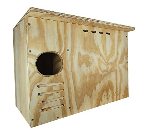 Red Trunk Tree Cedar - JCs Wildlife Barn Owl Nesting Box Large House Crafted in USA w