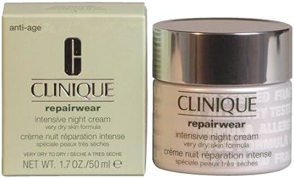 Clinique repairwear Intensive Night Cream Very Dry Skin Formula, 1er Pack (1 x 50 ml): Amazon.es: Belleza