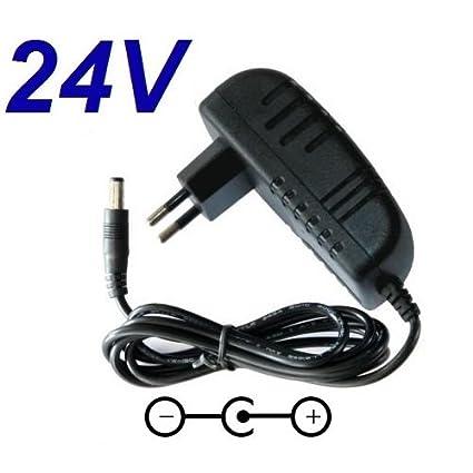Cargador Corriente 24V Reemplazo Aspiradora Robot Vileda M-448A M-488A Recambio Replacement