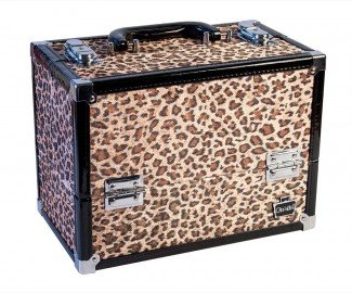Caboodles Make Me Over Train Case (Cheetah Print)]()