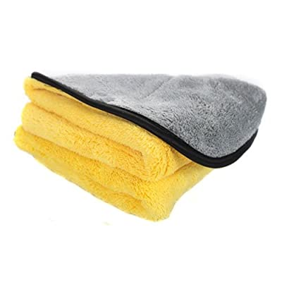 Chemical Guys MIC_1001 Microfiber Max 2-Faced Soft Touch Towel for Auto, Home, Kids, Pets & More (16 in. x 16 in.): Automotive