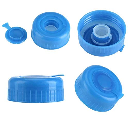 55mm 3 and 5 Gallon Non-Spill Screw On Caps,Replacement Water Bottle Caps Anti Splash 10 PCSPLEASE Measure Your Bottle OPENINGONLY FITS 55MM/2.16 INCH Opening,Does NOT FIT 53MM/2.08 INCH Opening