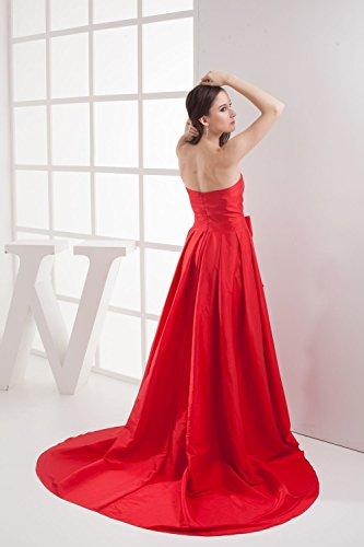 Bridal_Mall - Vestido - Sin mangas - para mujer amarillo