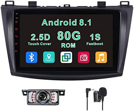 Amazon com: Android 8 1 Car Stereo for Mazda 3 2010,2011
