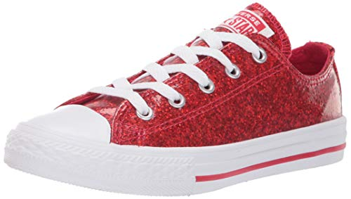 Converse Kids Chuck Taylor All Star Glitter Coated Low Top Sneaker