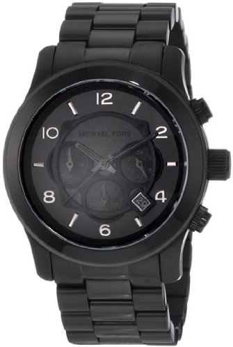 Michael Kors Watches Michael Kors Men's Steel Black Chronograph Sport