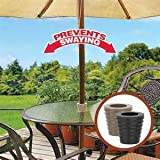 Patio Umbrella Cone (Black)