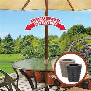 Patio Umbrella Cone (Brown) Fits 1.5'' Umbrella. Weather Resistant Polyurethane. The Original Made in the USA. by Mad Hatter Distributing