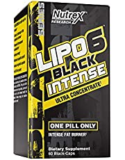 Nutrex Research Lipo-6 Black Intense Ultra Concentrate | Intense Thermogenic Fat Burner