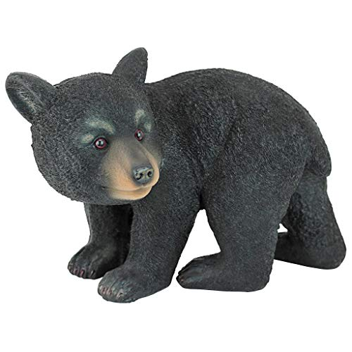 Design Toscano Roly-Poly Bear Cub Statue, Walking Bear