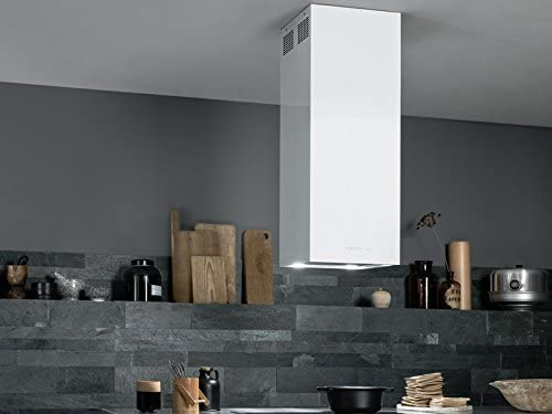Falmec Design Campana extractora de Isla MIRA White: Amazon.es: Hogar