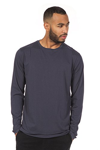 THE DETAILS: Long sleeve classic crew neck collar, double yoke and straight hem. Tailored for clean lines and a slim fit. Never underestimate a well-made T-shirt. With its timeless style and all-day comfort, you'll want to wear it every day. ...