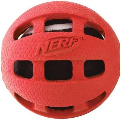 Nerf Dog VP6612E - Pelota de Tenis con Funda de Goma (9 cm)