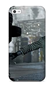 Tpu Case For Iphone 5c With Aaron Johnson Pictures In Godzilla 2014 3214680K45765034