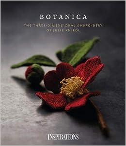 EMBROIDERY HOOP Botanical Study FernSageDelicateFlora