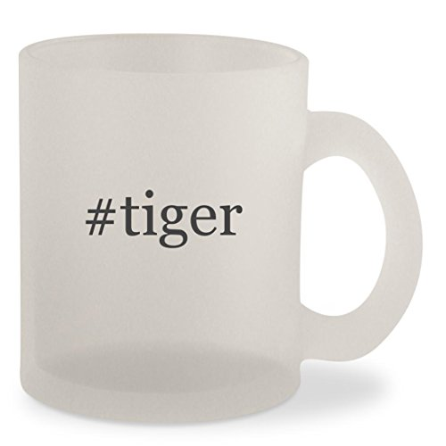 Price comparison product image #tiger - Hashtag Frosted 10oz Glass Coffee Cup Mug