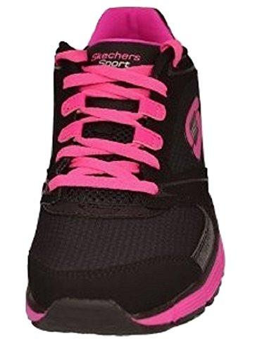Skechers - Zapatillas para mujer Multicolor - negro/rosa