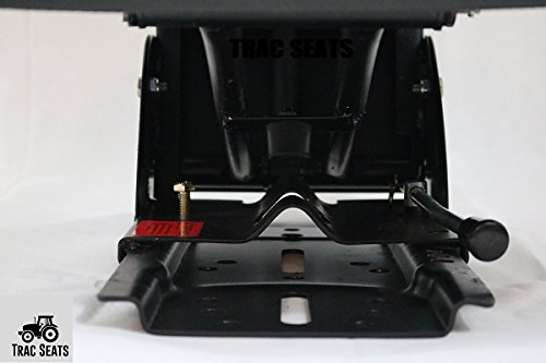 Fast DELIVERY - 1-4 Business Day DELIVERY Black TRIBACK STYLY SYSPENSION Tractor SEAT FITS Massey Ferguson 283 290 294 350 356 362 375 385 390 398 399 451 550 565 575 590-5 Position TILT