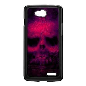 Retro Skull Black Hard Plastic Case for LG L90 by Fernando Garza + FREE Crystal Clear Screen Protector