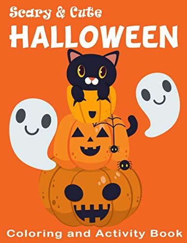 Halloween Crossword Puzzle Answers (Scary & Cute Halloween Coloring and Activity Book: Crossword, Dot to Dot, Mazes, Word Searches and More! for Boys, Girls Kids Ages 3-5 , 4-8 (Games and Activities Childrens)