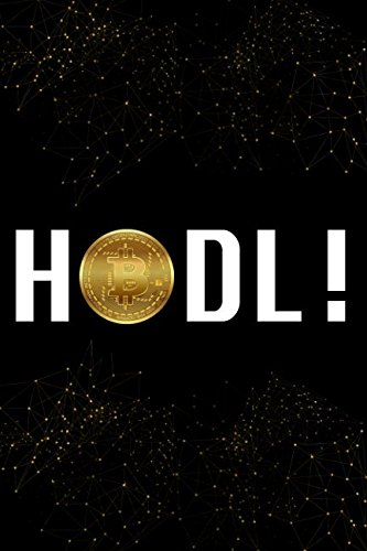 Read Online HODL: Black and Gold Bitcoin Cryptocurrency Designer Notebook PDF