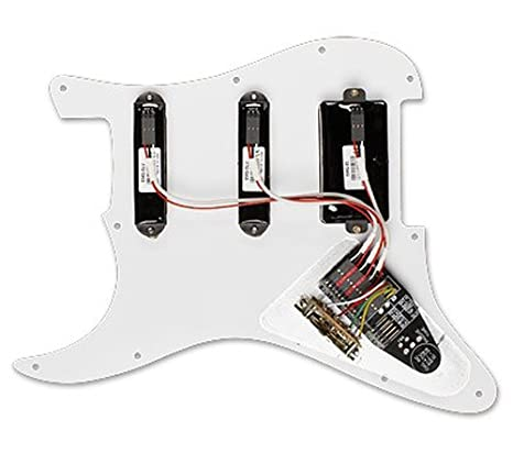 EMG DG20 David Gilmour Active Pickup Guitar Pickguard Set David Gilmour Strat Emg Pickups Wiring Diagram on