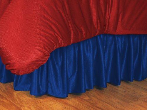 MLB Kansas City Royals Bed Skirt, Queen, Bright (Mlb Queen Bedskirt)