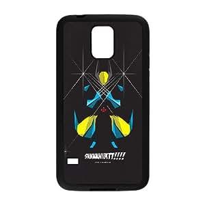 Samsung Galaxy S5 Cell Phone Case Black Wolverine Art SUX_177388