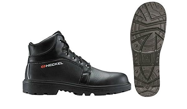 Uvex Heckel bandera Titane Metal libre de seguridad botas negro, color Negro, talla 46 EU: Amazon.es: Zapatos y complementos