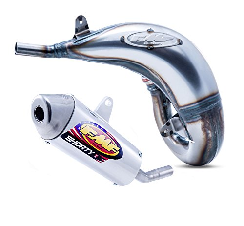 FMF Factory Fatty Exhaust Pipe & Shorty Silencer - compatible with Husqvarna TC 125 & KTM 125/150 SX 2016-2018_025183|025187 (Fmf Factory Fatty Exhaust Pipe)